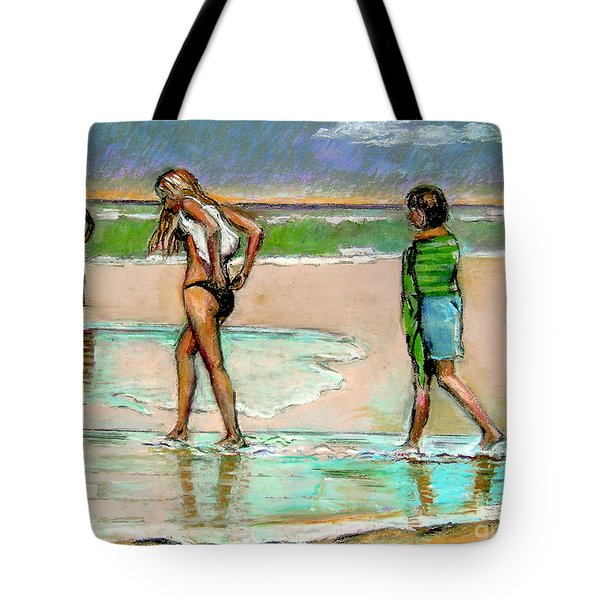 I Hope The Sun Comes Out Tote Bag by Stan Esson