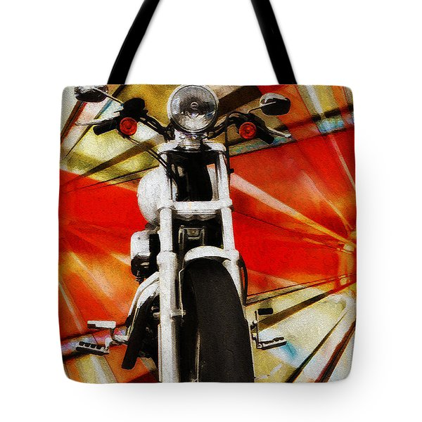 I Like Bikes Tote Bag by Bill Cannon