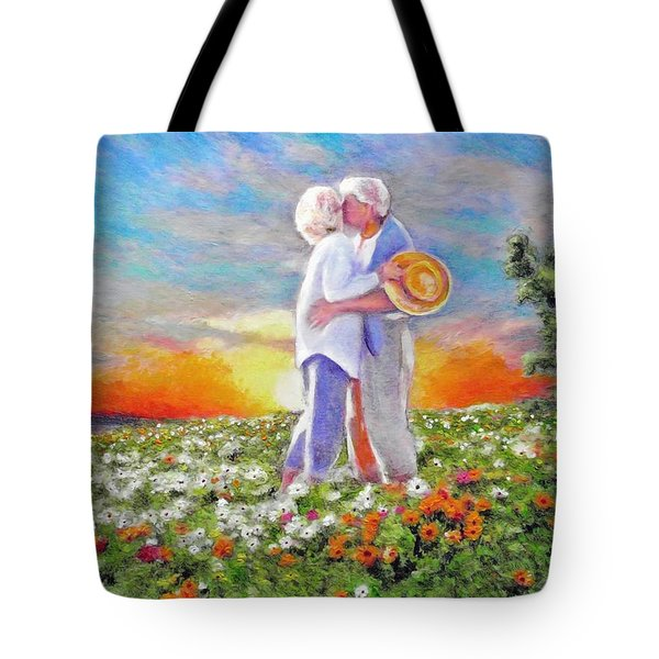 I Love You Darling Tote Bag by Michael Durst