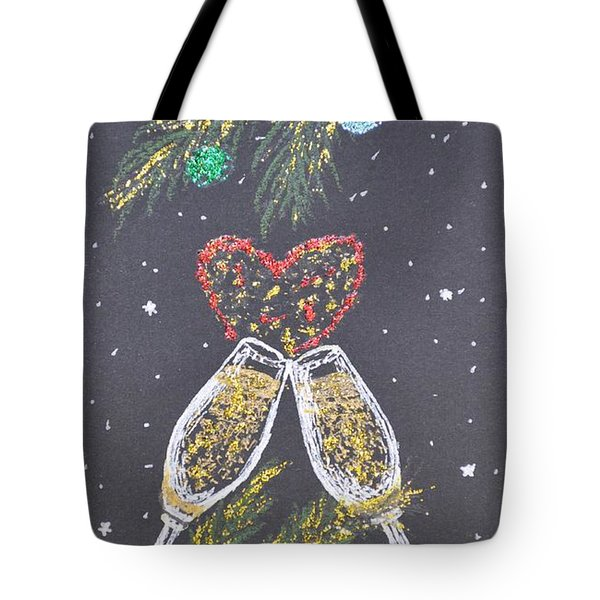 I Love You Tote Bag by Georgeta  Blanaru