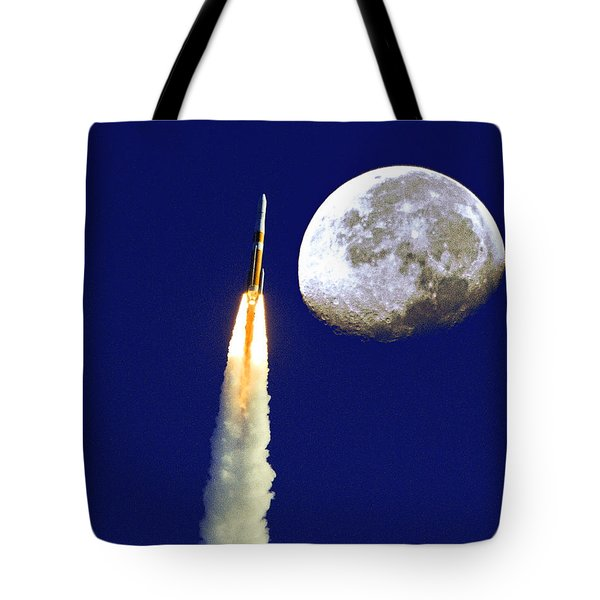 I Need My Space Tote Bag by Roger Wedegis