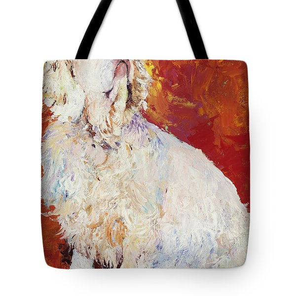 I Refuse Tote Bag by Pat Saunders-White