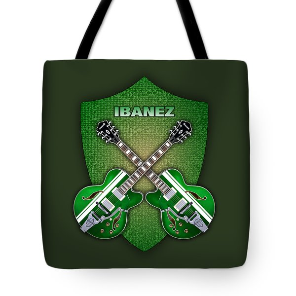 Ibanez Geen Shield Tote Bag by Doron Mafdoos