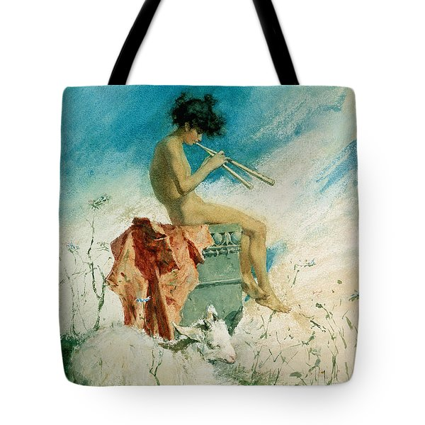 Idyll Tote Bag by Mariano Fortuny y Marsal