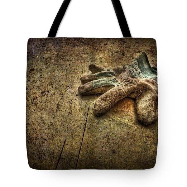 If the Glove Doesn't Fit........ Tote Bag by Evelina Kremsdorf