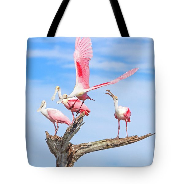 If You Had Wings Tote Bag by Mark Andrew Thomas