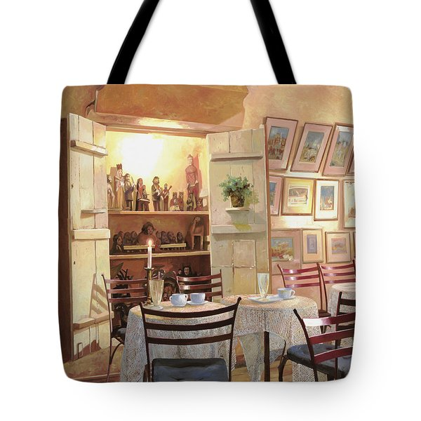 Il Caffe Dell'armadio Tote Bag by Guido Borelli