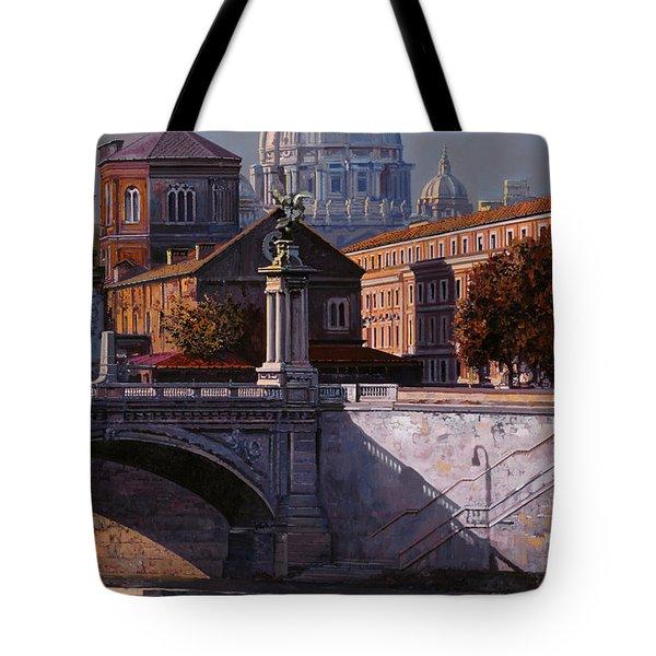 Il Cupolone Tote Bag by Guido Borelli