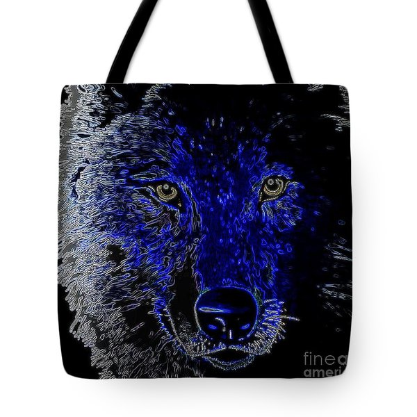 I'll Be Watching You Tote Bag by WBK