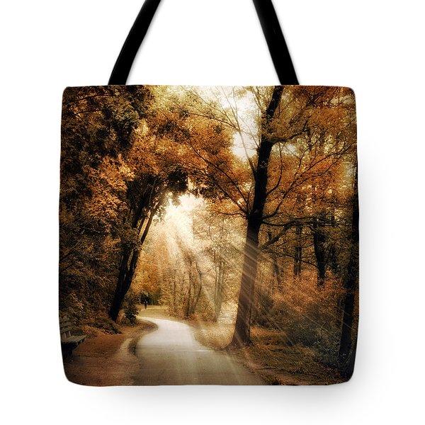Illumination Tote Bag by Jessica Jenney