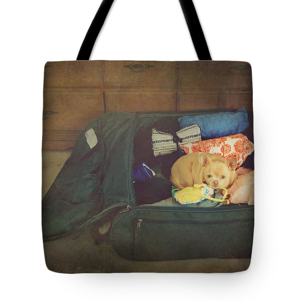 I'm Going With You Tote Bag by Laurie Search