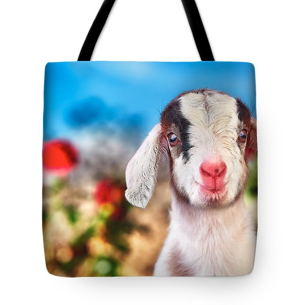 I'm In The Rose Garden Tote Bag by TC Morgan