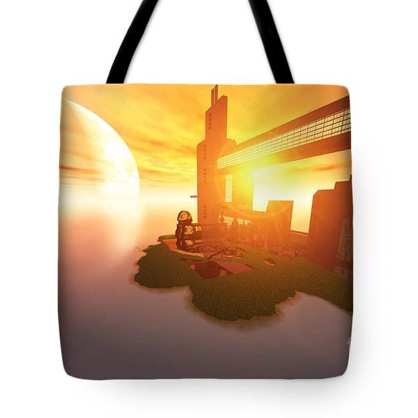 Imagine Tote Bag by Corey Ford