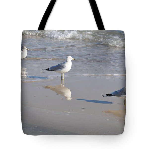 In A Row Tote Bag by Jan Amiss Photography