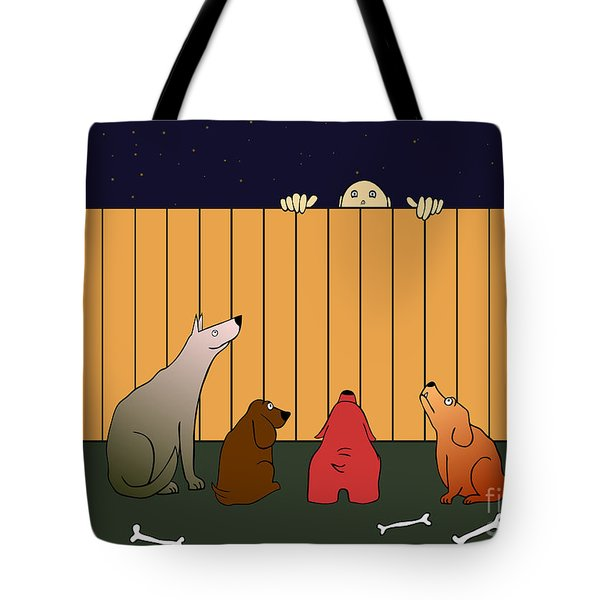 in bad time on the bad place Tote Bag by Michal Boubin