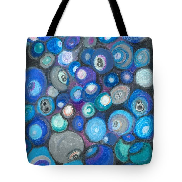 In Front Of The 8 Ball Tote Bag by Ania M Milo