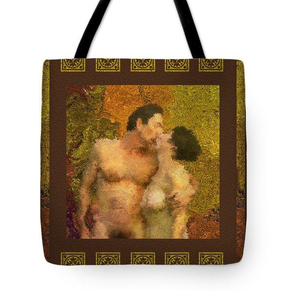 In Love Tote Bag by Kurt Van Wagner
