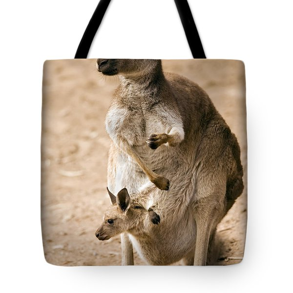 In  Mother's Care Tote Bag by Mike  Dawson