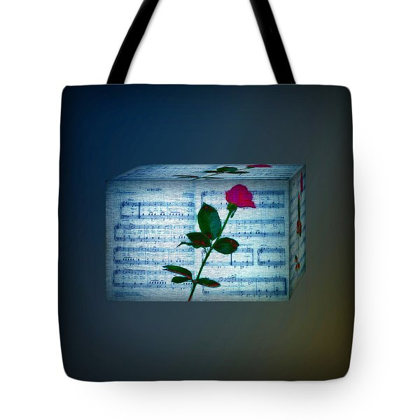 In My Life Cubed Tote Bag by Bill Cannon