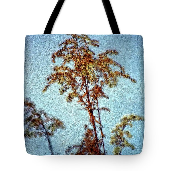 In Praise Of Weeds II Tote Bag by Steve Harrington