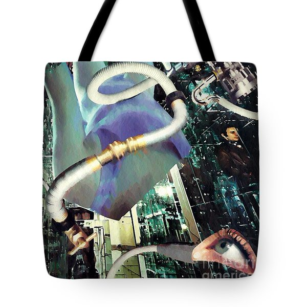In Production Tote Bag by Sarah Loft