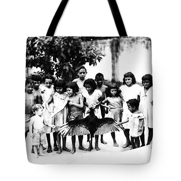 In The Amazon 1953 Tote Bag by W E Loft