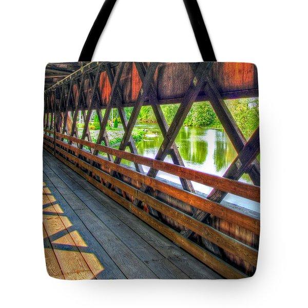 In The Bridge Tote Bag by Jackie Novak