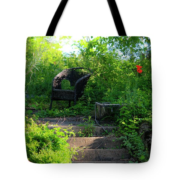 In The Garden Tote Bag by Teresa Mucha