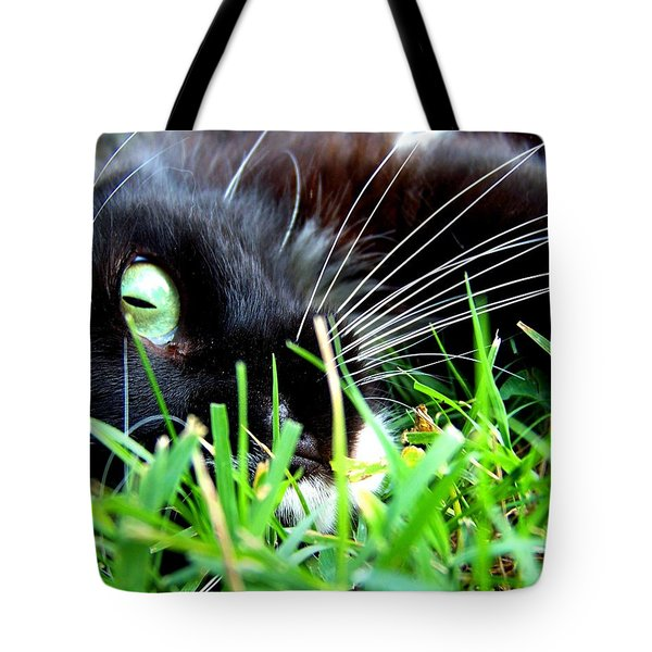 In The Grass Tote Bag by Jai Johnson