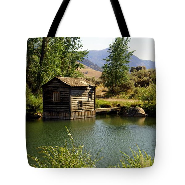 In The High Country Tote Bag by Marty Koch