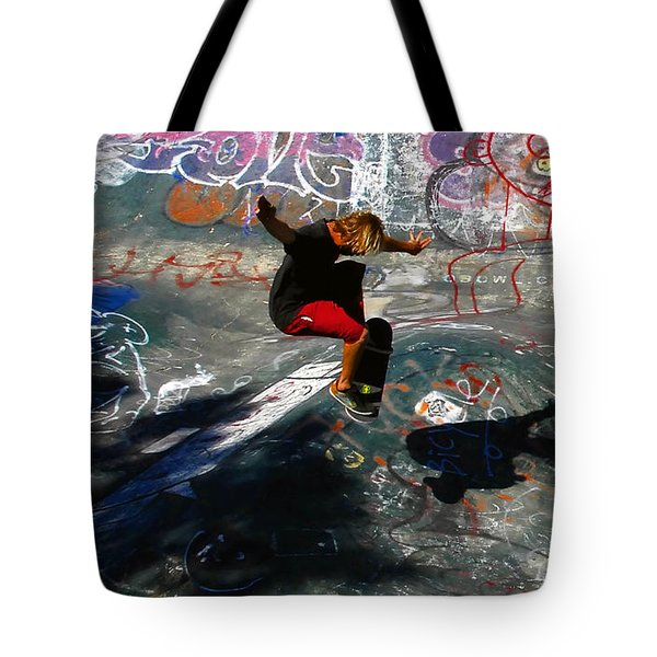 In The Moment Tote Bag by David Lee Thompson