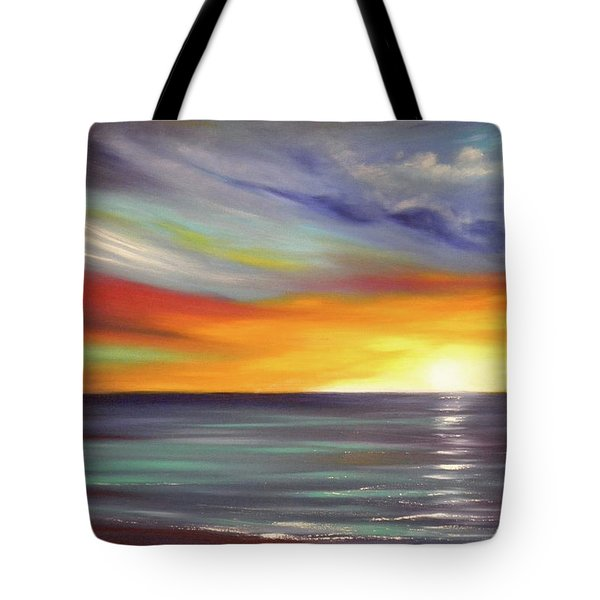In The Moment Tote Bag by Gina De Gorna