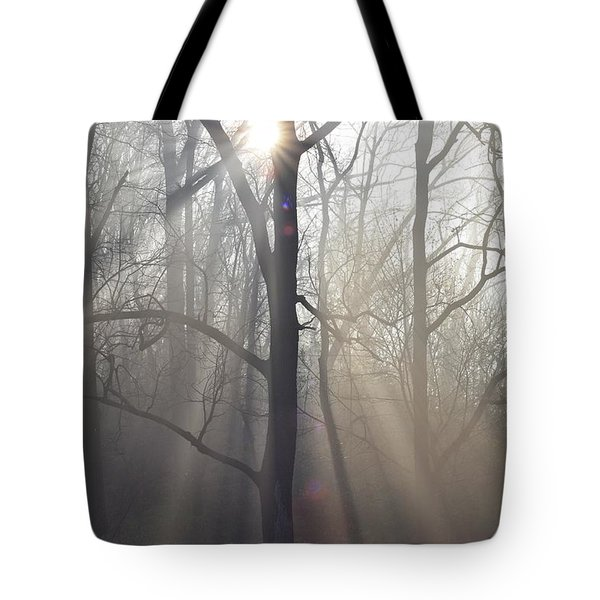 In the Morning Tote Bag by Bill Cannon