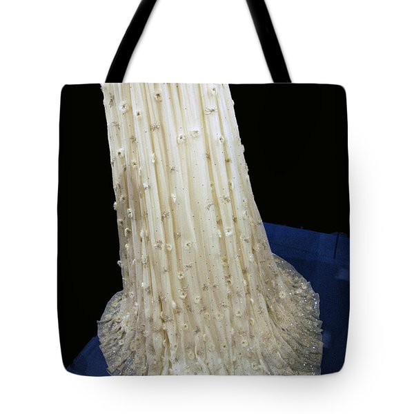 Inaugural gown train on display Tote Bag by LeeAnn McLaneGoetz McLaneGoetzStudioLLCcom