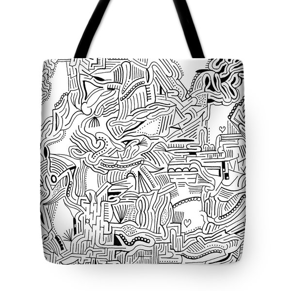 Inclusive Tote Bag by Steven Natanson