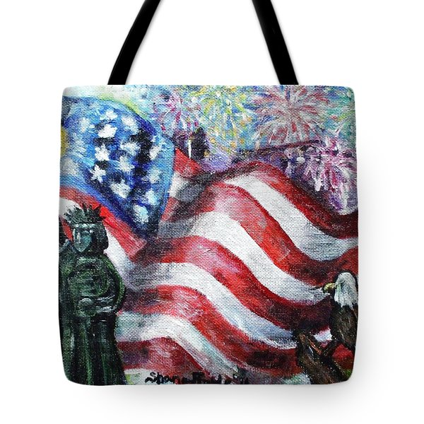 Independence Day Tote Bag by Shana Rowe Jackson