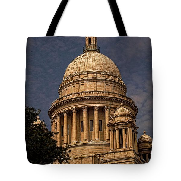 Independent Man Tote Bag by Lourry Legarde