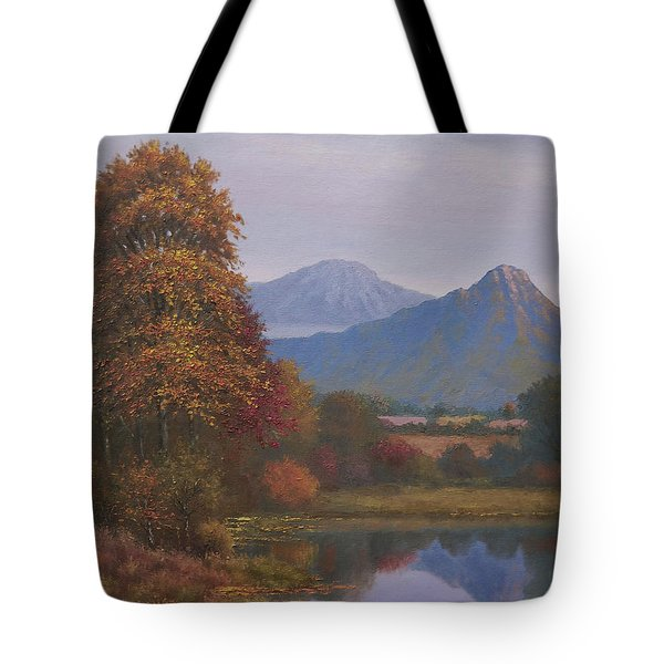 Indian Summer Revisited Tote Bag by Sean Conlon