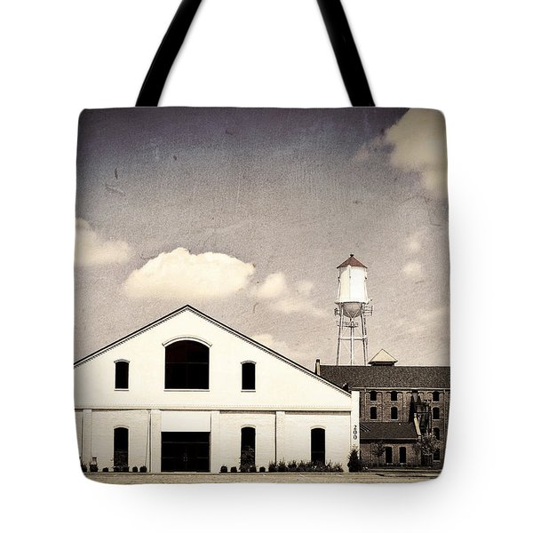 Indiana Warehouse Tote Bag by Amber Flowers