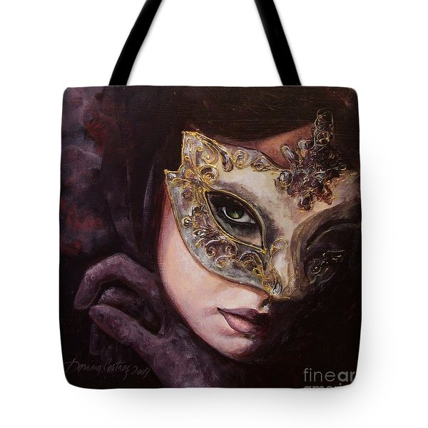 Ingredient Of Mystery  Tote Bag by Dorina  Costras