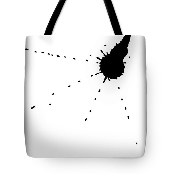 Ink Spill Tote Bag by Frank Tschakert