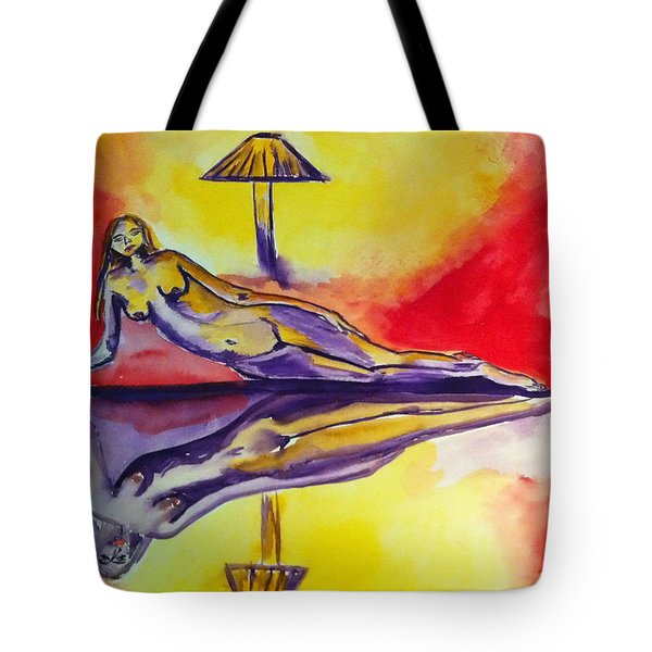 Inner Reflections Tote Bag by Donna Blackhall
