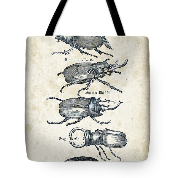 Insects - 1792 - 01 Tote Bag by Aged Pixel