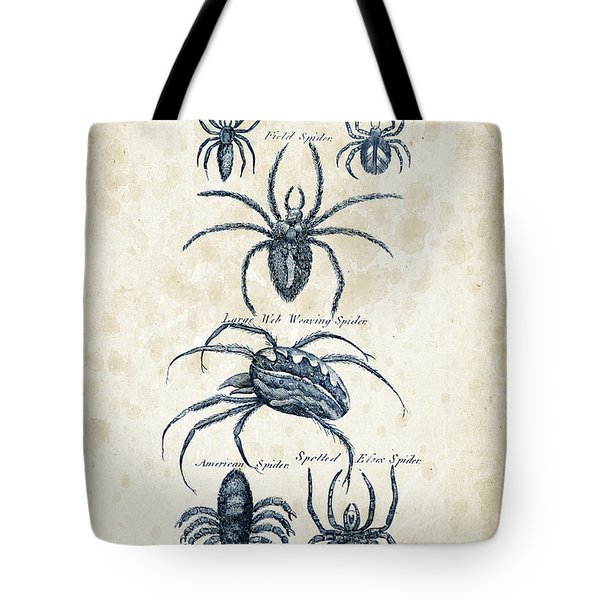 Insects - 1792 - 18 Tote Bag by Aged Pixel
