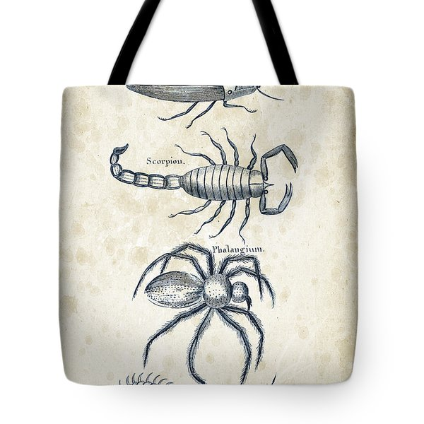 Insects - 1792 - 19 Tote Bag by Aged Pixel