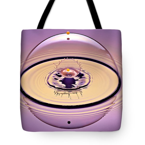 Inside A Saturn Bubble Tote Bag by Susan Candelario