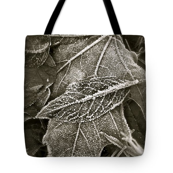 Intricately Frosted Tote Bag by Gwyn Newcombe