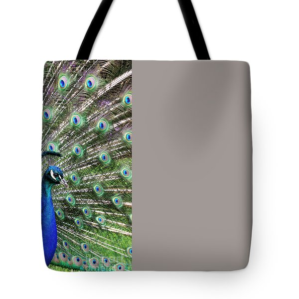 Iridescent Eyes Tote Bag by Tim Gainey