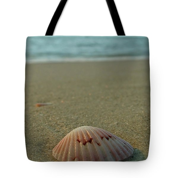 Iridescent Seashell Tote Bag by Juergen Roth