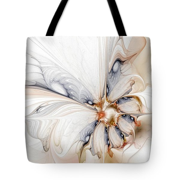 Iris Tote Bag by Amanda Moore